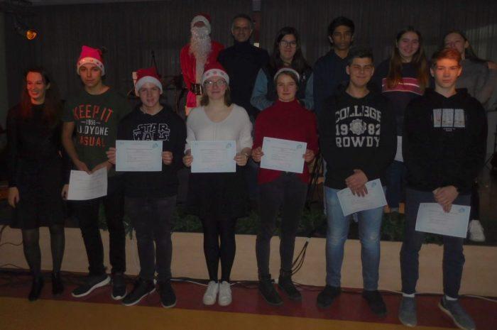 DELF-Teilnehmer erfolgreich