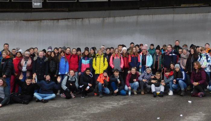 Klassenfahrt nach Berchtesgaden