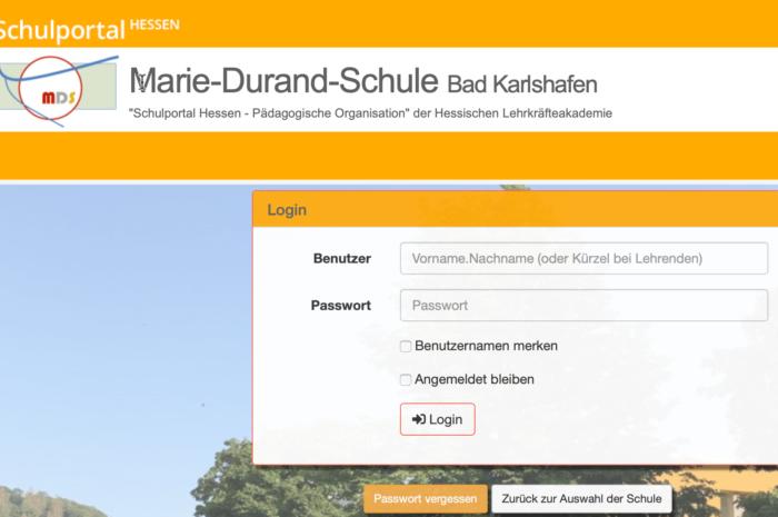 Neue Adresse für das Schulportal Hessen